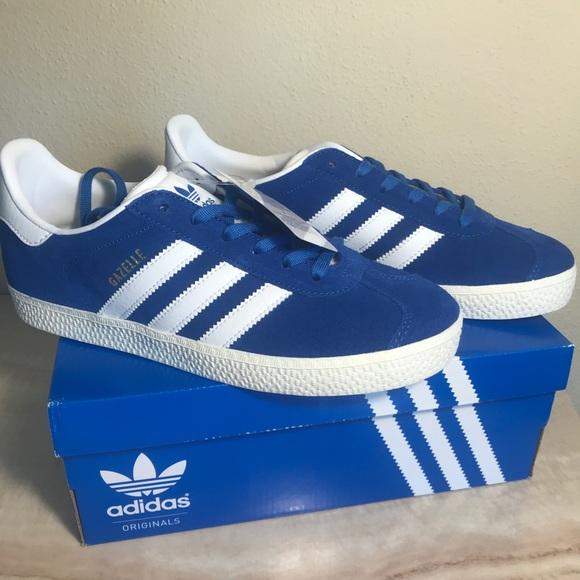 adidas Shoes   True Blue Gazelle